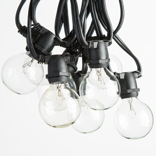 Read Reviews 20-Light Globe String Lights By Hometown Evolution, Inc.