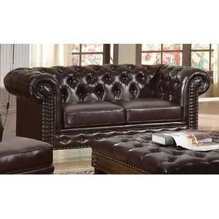 Shop Orozco Chesterfield Loveseat by Canora Grey