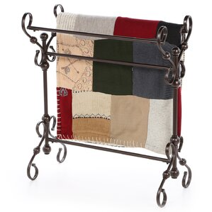 Blanket/ Quilt Rack by Fleur De Lis Living