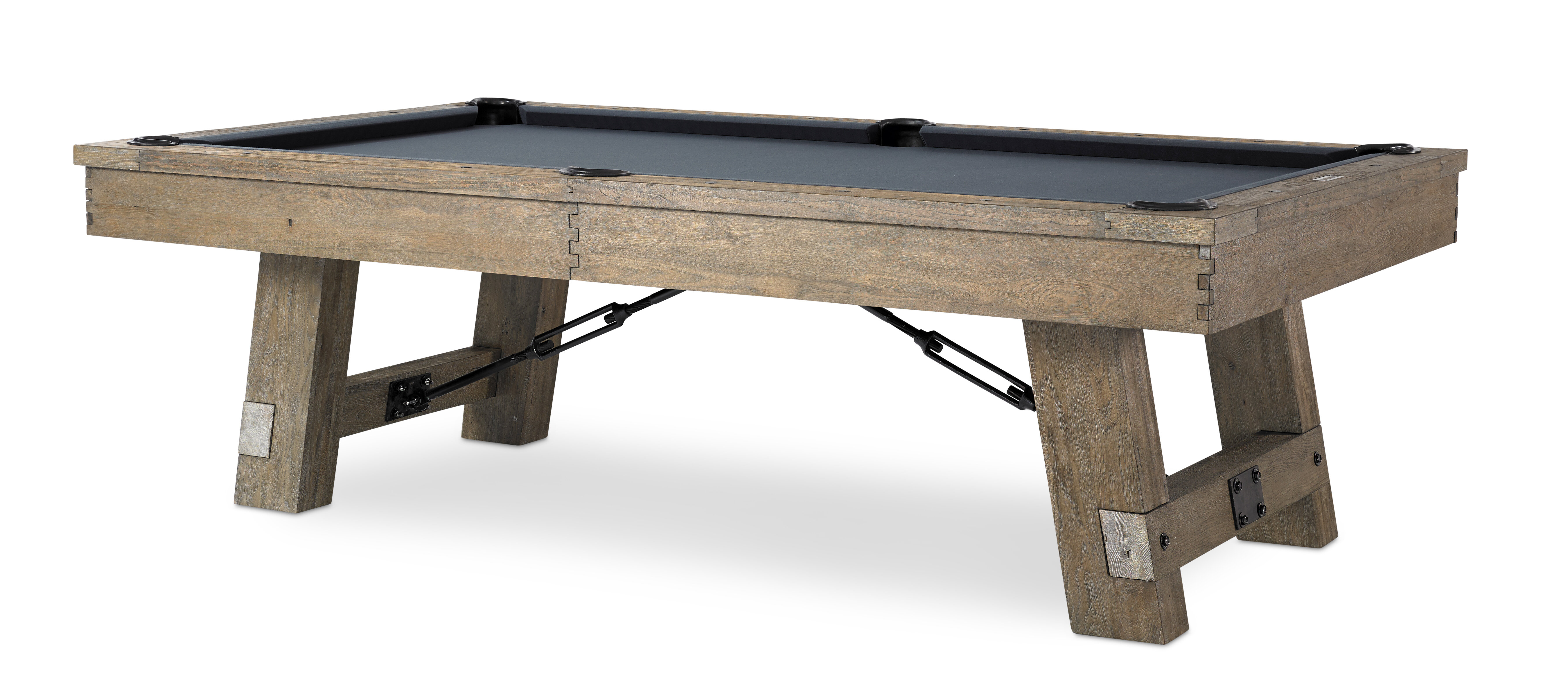 Plank Hide Isaac Slate Pool Table With Professional Installation Included