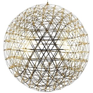 Orren Ellis Findley Suspension LED Globe Pendant