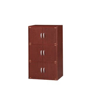 6 Door Storage Accent Cabinet by Rebrilliant
