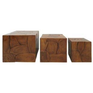 Lockhart 3 Piece Stool Set (Set Of 3) By Union Rustic