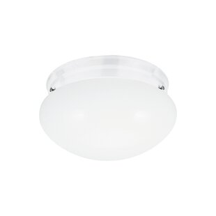 Ebern Designs Brycen 2-Light Flush Mount