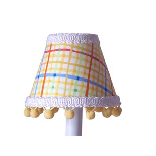 Fun Primary Plaid 11 Fabric Empire Lamp Shade