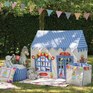 Best Price Toy Shop 4.42' x 3.58' Playhouse ByWin Green