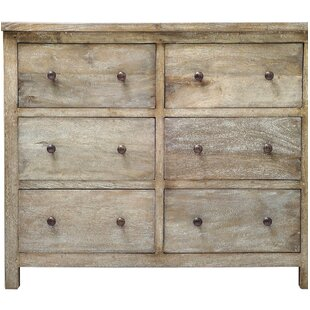 Loon Peak Flavien 6 Drawer Dresser