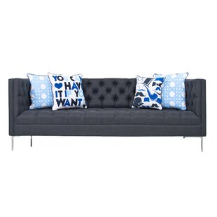 Shop Heathered Chesterfield Sofa by ModShop