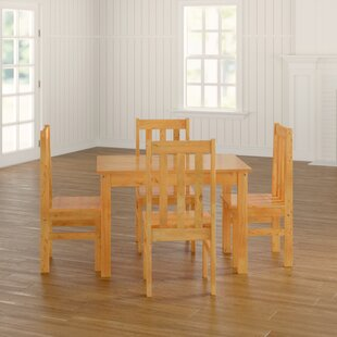 Best Brent Dining Set With 4 Chairs