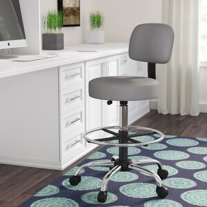 Janiya Adjustable Height Drafting Chair