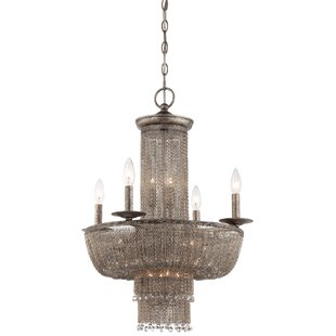 Metropolitan by Minka Shimmering Falls 15-Light Empire Chandelier