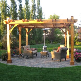 Breeze 20 Ft. W x 12 Ft. D Solid Wood Pergola by Outdoor Living Today