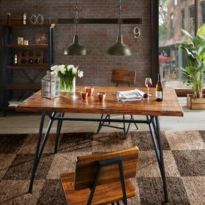 Trestle Gathering Dining Table by INK+IVY