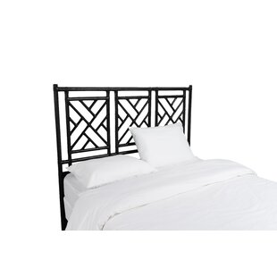 Chinese Chippendale Open-Frame Headboard by David Francis Furniture
