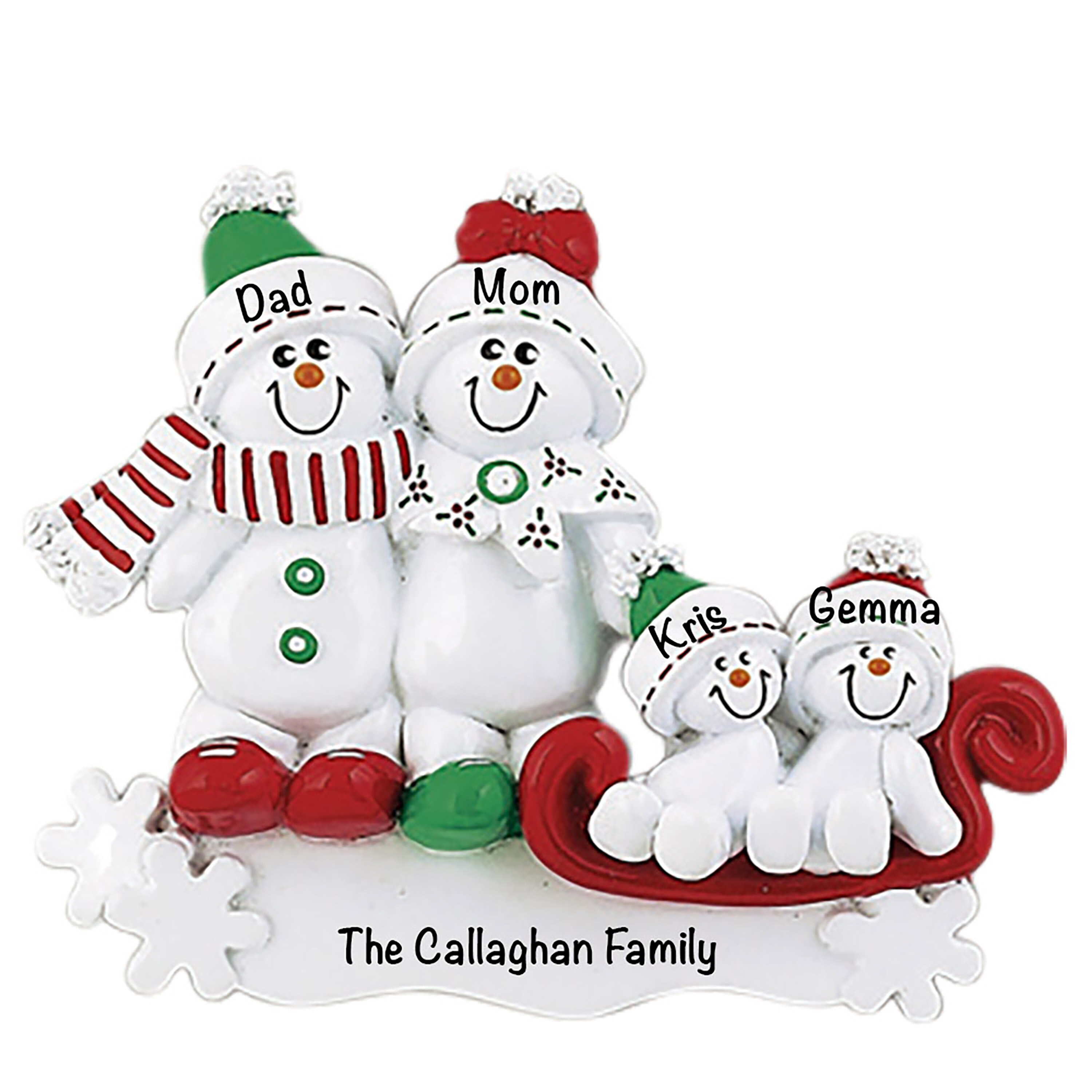Christmas Snowflake Personalized Ornaments You Ll Love In 2021 Wayfair