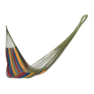 Ryegate Tropical Wind Handwoven Camping Hammock by Bloomsbury Market