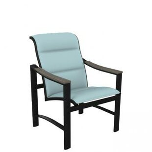Brazo Padded Sling Patio Dining Chair