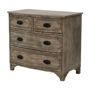 Gracie Oaks Vinoe 4 Drawer Chest