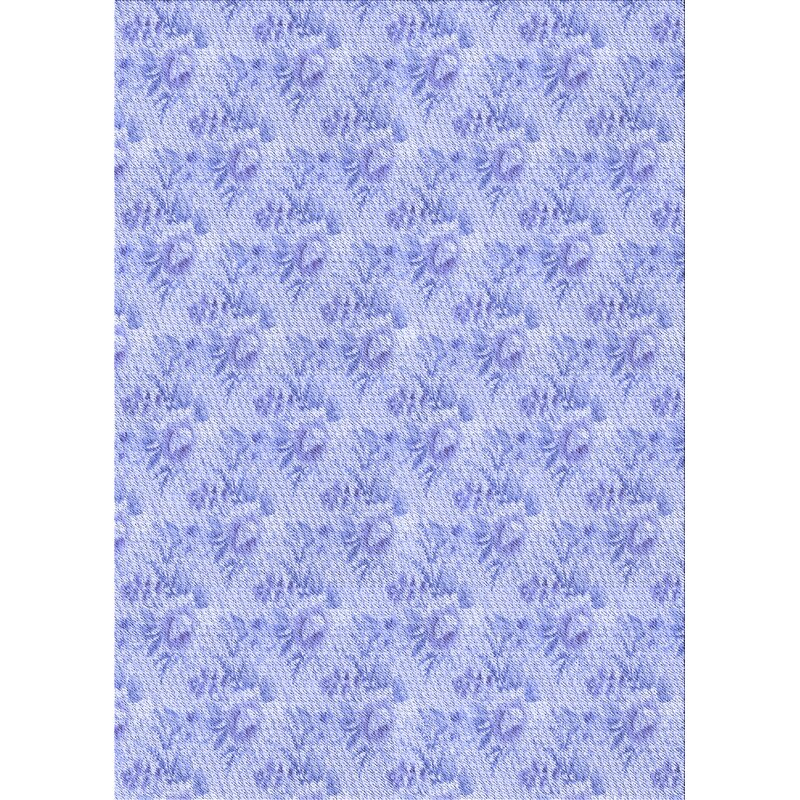 East Urban Home Shapiro Floral Wool Blue Area Rug Wayfair