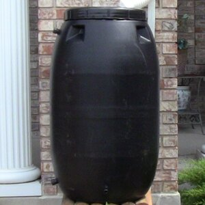 55 Gallon Rain Barrel