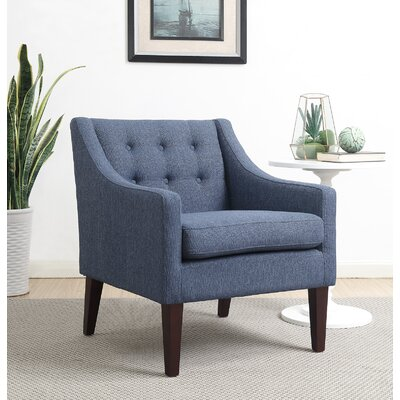 Aileen Armchair Upholstery Color: Navy Blue by Alcott Hill