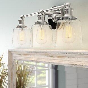 Beachcrest Home Woodburn 3-Light Vanity Light