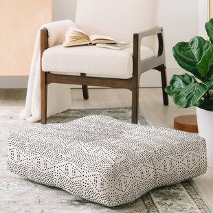 Shoshana Boho Tile Square Floor Pillow