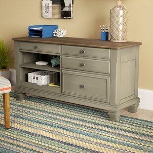 Mason Solid Wood Credenza Desk