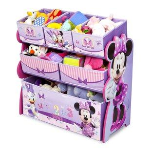 Minnie Mouse Multi-Bin Toy Organizer by Delta Children