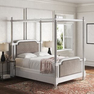Austen Upholstered Canopy Bed