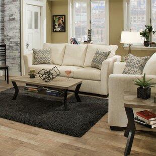 Andover Mills Du Bois Solid Configurable Living Room Set