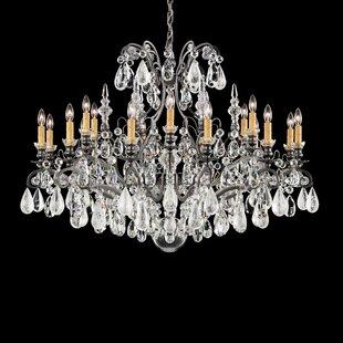Renaissance 18-Light Chandelier by Schonbek