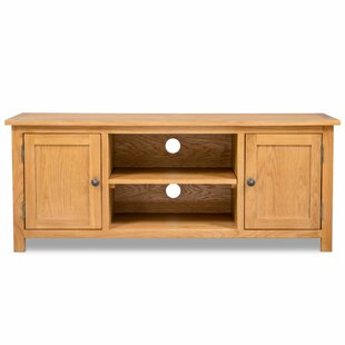 Quesinberry Solid Wood TV Stand For TVs Up To 48