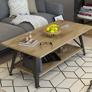 Kaliyah Coffee Table with Tray Top