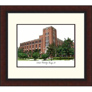 NCAA DePaul Blue Demons Legacy Alumnus Lithograph Picture Frame By Campus Images