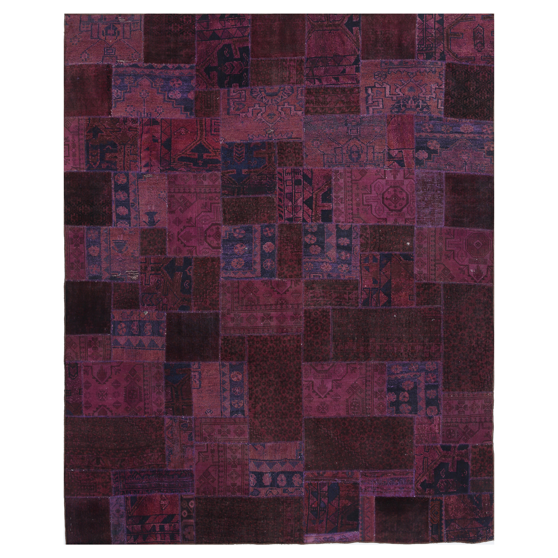 Isabelline Conor Patchwork Pink Burgundy Area Rug Wayfair