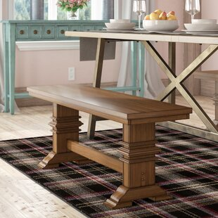 Ringgold Wood Bench by Laurel Foundry Modern Farmhouse