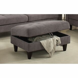 Cabe Storage Ottoman by Wrough..