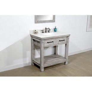 Best Ezra 37 Single Bathroom Vanity Set ByMillwood Pines