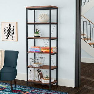 Glenfield Etagere Bookcase by Wade Logan