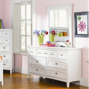 Viv + Rae Sully 7 Drawer Dresser with Mirror Image