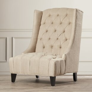Gilman Wingback Arm Chair by Three Posts
