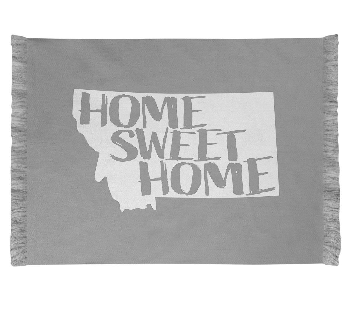 East Urban Home Home Sweet Montana Grey Area Rug Wayfair