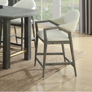 Peirce 24 Bar Stool by Bungalow Rose
