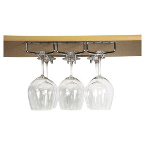 Hanging Wine Bottle Rack by True Brands