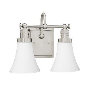Charlton Home Poteat 2-Light Vanity Light