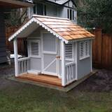 Little Alexandra Cottage 6.17' x 6' Playhouse by Canadian Playhouse Factory