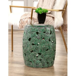Bay Isle Home Linfield Garden Stool