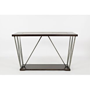 Walsall Wood and Metal Console Table