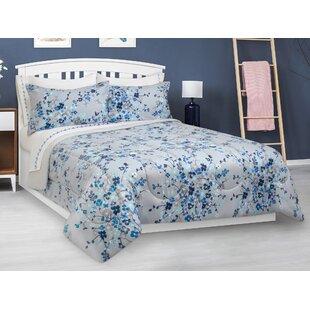 Bowser Floral Reversible Comforter Set